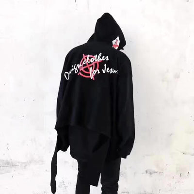 DCFJ 17S/S Ripped Hoodie
