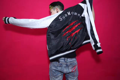 SuaMoment 2016/AW ClawMark Jacket Men