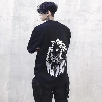 Bound.X 17ss Lion Print Tee Men