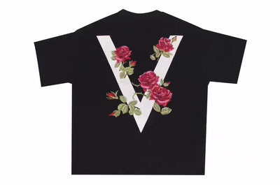 "VOVAVI 17SS ""Red Rose"" Collection Tee Men"