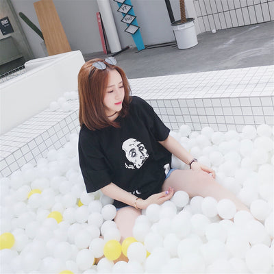 iSaluteU 18SS Ghost Printed Tee WOMEN
