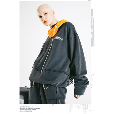 SENCE LA 18SS Basic Hoodies WOMEN