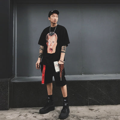 "MAMC 17ss ""Home Alone"" Strap Tee Men"