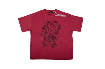Vovavi 17SS Tric-Rose Stitch Tee Men