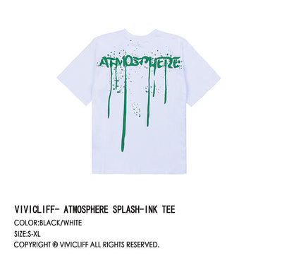 ViVi.Cliff 17ss Paint Tee Men