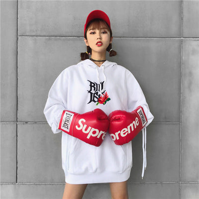 "Rookie Bell ""RBL"" 2017/FW Stitch Hoodie Women"