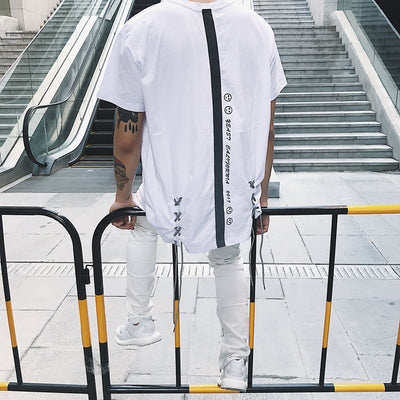 Yeast California 17SS 3M Reflective Strap Tee Men