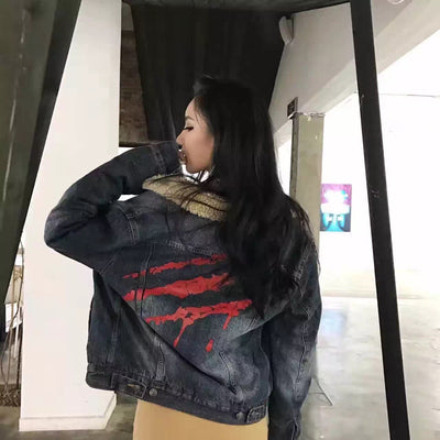 SuaMoment Denim Jacket
