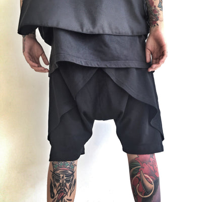 GYASTAL 18SS Fake Two-Piece Shorts MEN