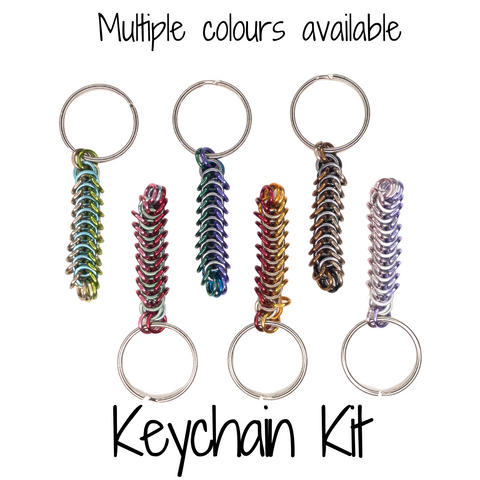 Box Chain Keychain - DIY Kit