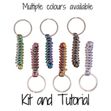 Box Chain Keychain - DIY Kit and Tutorial