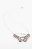 Deco Collection: Micromaille Necklace - Warm Pink Silver