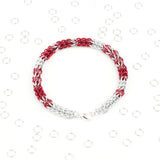 LOVE Morse Code Bracelet - Full Persian Weave