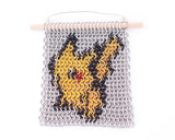 Miniature Chain Maille Wall Art - Pikachu Inspired Pokémon Inlay