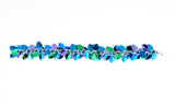 Shaggy Scales Collection: Bracelet - Blue, Green and Purple