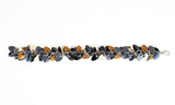 Shaggy Scales Collection: Bracelet - Black, Gold and Bronze