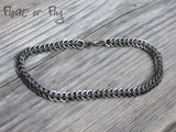 Half Persian Chain Maille Bracelet (Unisex) - Stainless Steel