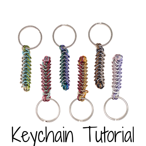 Box Chain Keychain - DIY Tutorial
