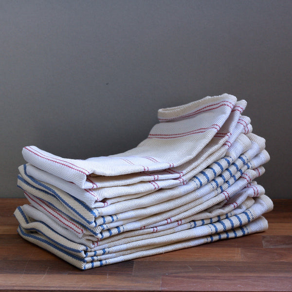 Classic Striped Cotton Napkins