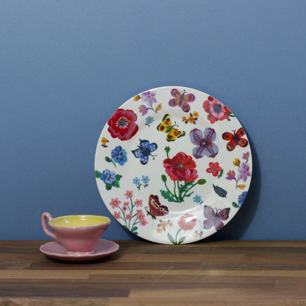 Childs Dining Plate - Butterflies