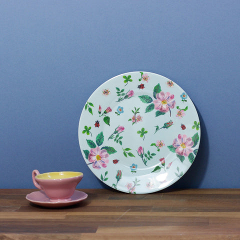 Childs Dining Plate - Flowers