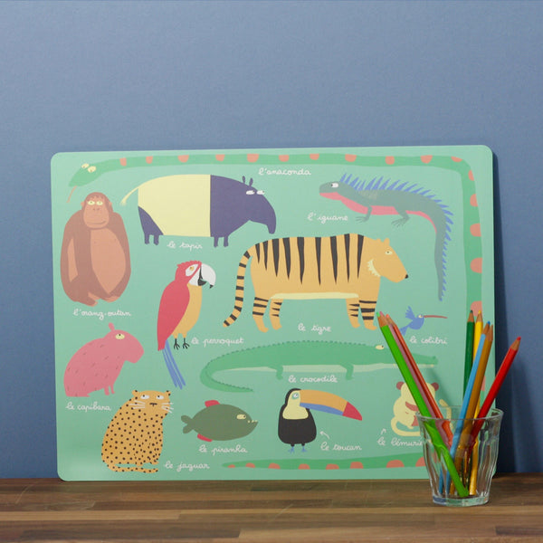 Children's Placemats - Jungle