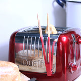 Magnetic toaster tongs
