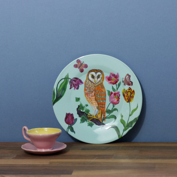 Childs Dining Plate - Owl