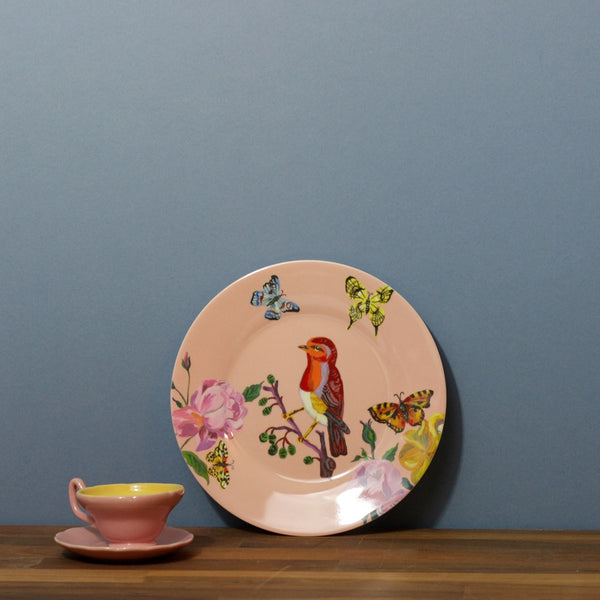 Childs Dining Plate - Robin