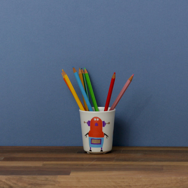 Childs Drinking Cup - Robot