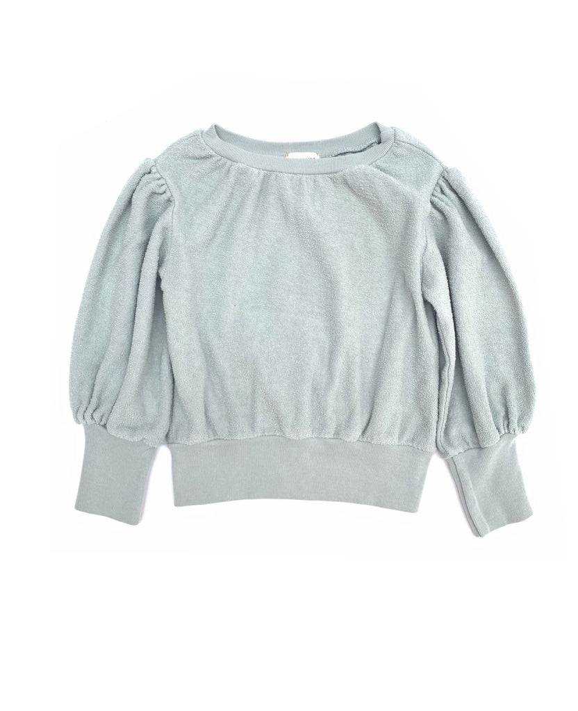 LONGLIVETHEQUEEN terry sweater mint