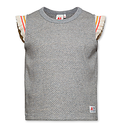 AO76 Jacquard tshirt heather grey