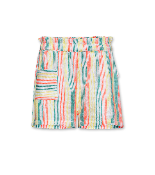 AO76 120-1440 loose striped shorts multi