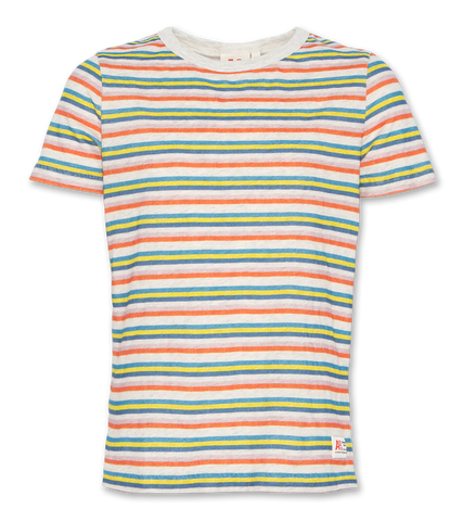 AO T-SHIRT C-NECK STRIPES