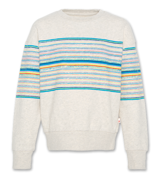 AO76 C-NECK SWEATER C-NECK OVERSIZED STRIPES