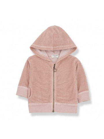 1+ in the family hood jacket SINNAI rose