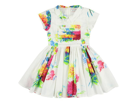 MORLEY LEMIA BIGFLORES white girlsdress