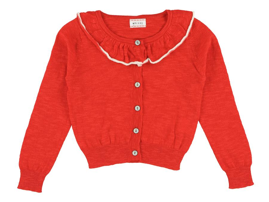 MORLEY LULU cricket chili cardigan