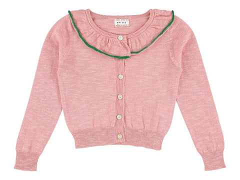 MORLEY LULU cricket flamingo cardigan