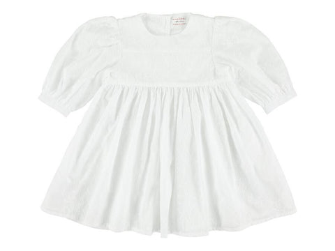 Morley Dress noa diria white