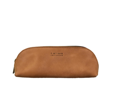 O MY BAG pencil case large camel