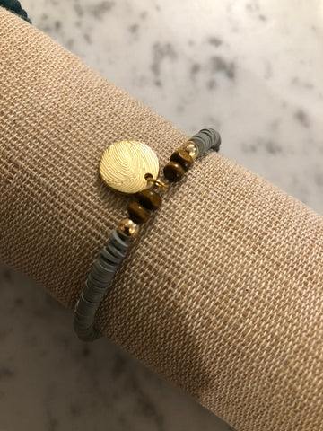 Buho armband gold medal cloud