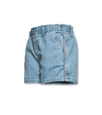 AO76 carla bleach shorts wash denim