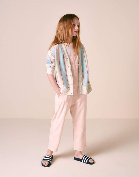 BELLEROSE PEPINO jumpsuit overall cotton candy