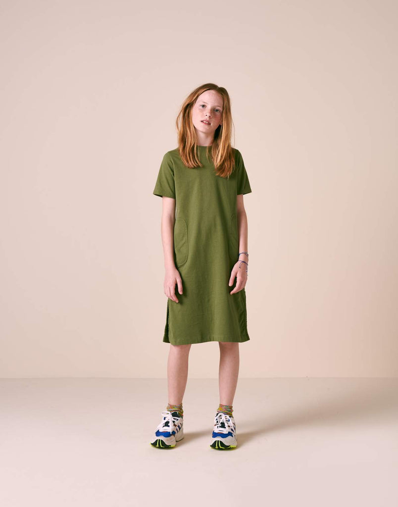 BELLEROSE VAQUEL dress army