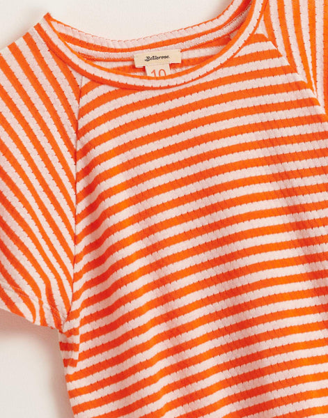 BELLEROSE CHILI tshirt stripe b