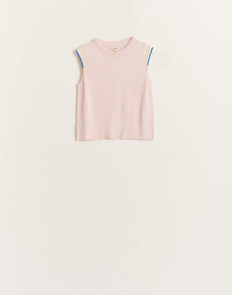 BELLEROSE debo knit cotton candy top