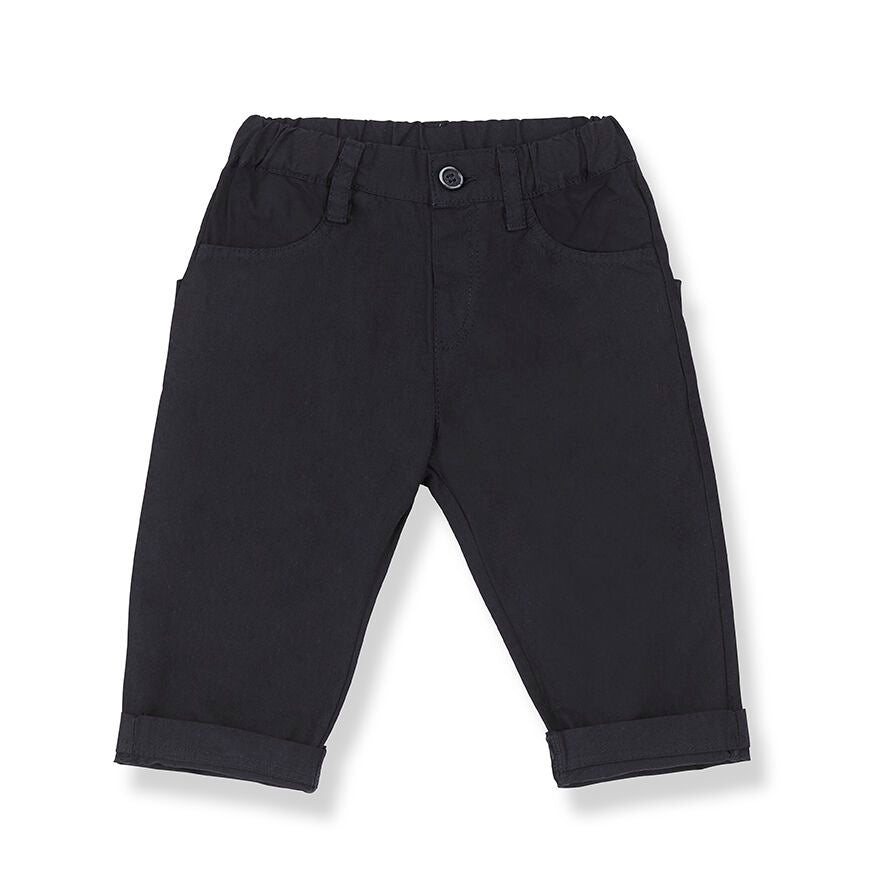 1+ in the family pants BONIFACIO blue notte