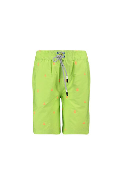 CKS DAZZEL soft lime swimming trunk