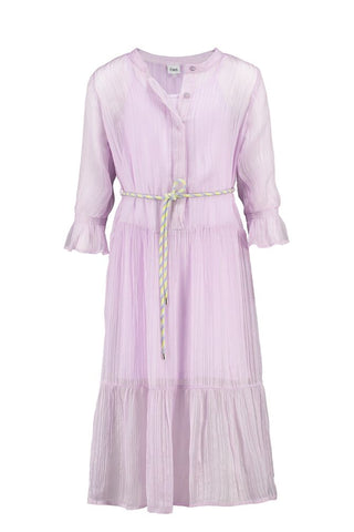 CKS GIRLS ABIR dark lilac dress long